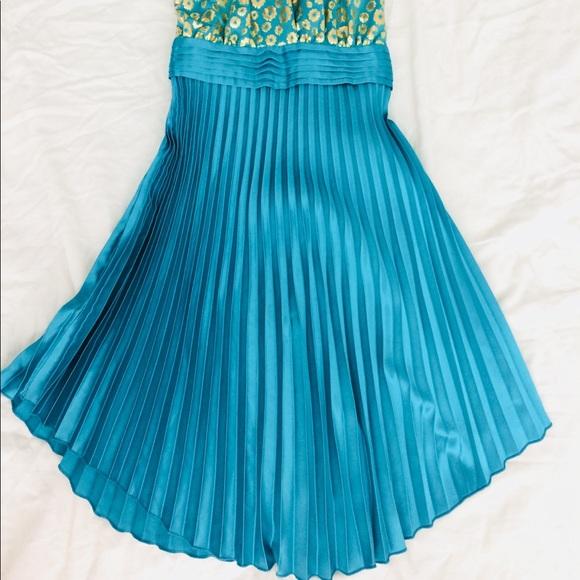 Lilyt Dresses & Skirts - Floral Pleated Dress-International Boutique
